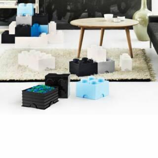 LEGO Storrage Brick 8 - Aqua (40041742) tároló blokk