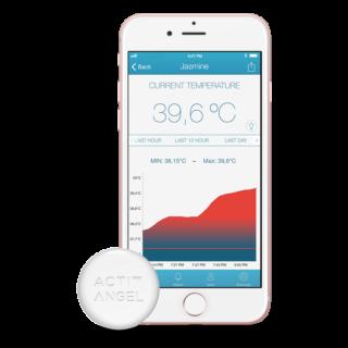 ActivAngel smart thermometer - okos hőmérő és állandó lázmérő
