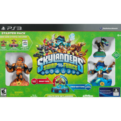Skylanders: Swap Force Starter Pack - PS3