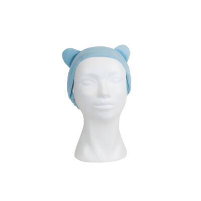 Fejpánt plüss füles kék