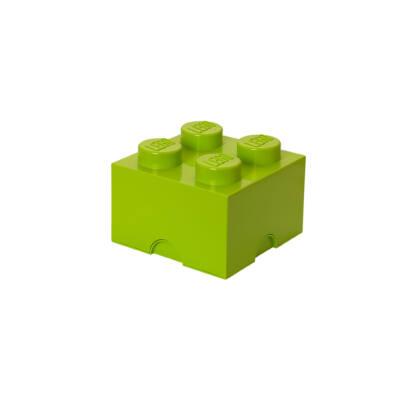 LEGO Storeage Brick 4 - Lime zöld (40031220) tároló blokk