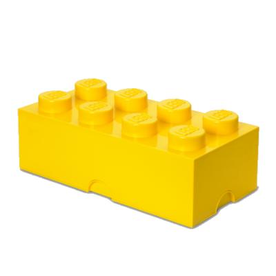 LEGO Storeage Brick 8 - Világos sárga (40041732) tároló blokk
